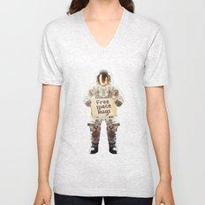 Space hugs Unisex V-Neck