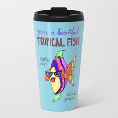Leslie Knope Compliments: Tropical Fish  Travel Mug