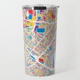 New Orleans Street Map Travel Mug