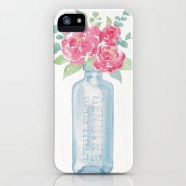 Vanilla Florals iPhone Case