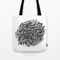 Modern Lace Tote Bag