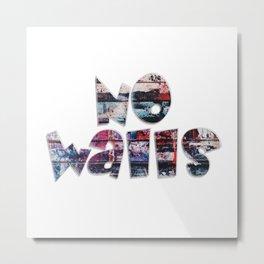 No Walls Metal Print