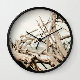Driftwood Days Wall Clock