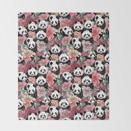 Because Panda Throw Blanket