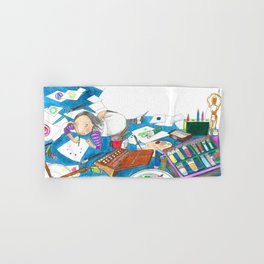 Believe in yourself - Art Explosion Hand & Bath Towel