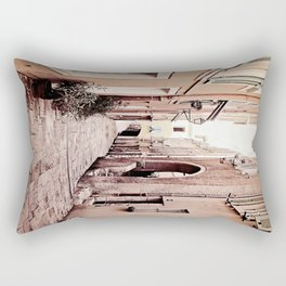 new day in Rio Rectangular Pillow