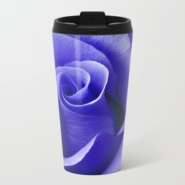 Blue ROSE Travel Mug