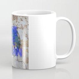 Save the Ocean - Neon Coffee Mug