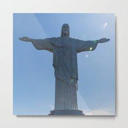 Corcovado, Cristo Redentor, Brasil Metal Print