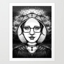 Mono Glasses II Art Print