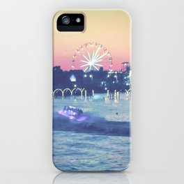 Broadway at the Beach iPhone Case
