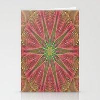 meditation Stationery Cards featuring Meditation by Deborah Benoit