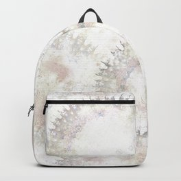 Boho Abstract Art Soft Neutral Pastels Backpack