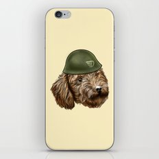 Toy Poodle Soldier iPhone & iPod Skin