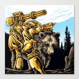 Golden Bearborg Canvas Print