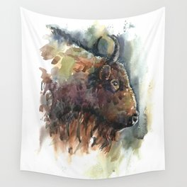 Bison. Wall Tapestry