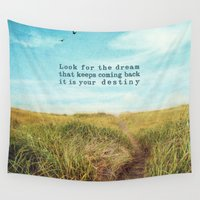 destiny Wall Tapestries featuring destiny by Sylvia Cook Photography