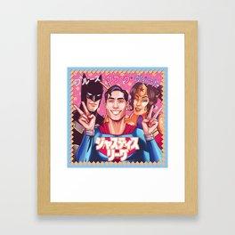 ジャスティス・リーグ - Justice League Framed Art Print