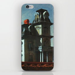 The House By The Railroad By Edward Hopper 1925 iPhone Skin