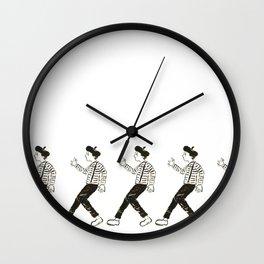 Talkless Man Wall Clock