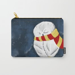 Sleepy Hedwig Carry-All Pouch