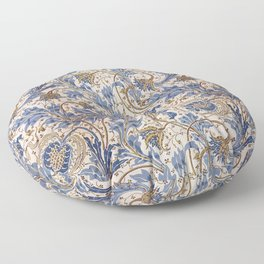 Aged Pomegranate Pattern Floor Pillow