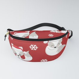 THE SPELL OF THE CHRISTMAS FOXES Fanny Pack