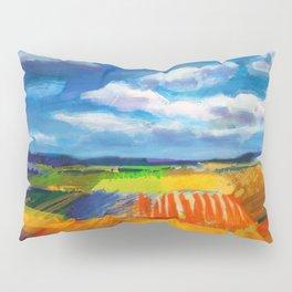 Clouds & Fields Pillow Sham