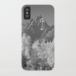 White Trees iPhone Case