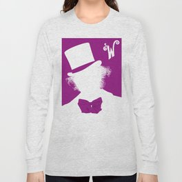 Willy Wonka Tribute Poster Long Sleeve T-shirt