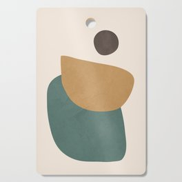 Abstract Minimal Shapes III Cutting Board