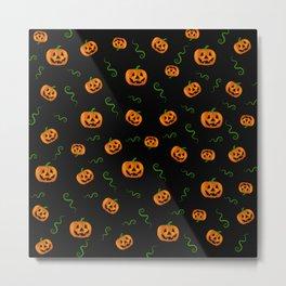 Pumpkin extravaganza Metal Print
