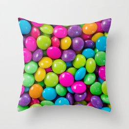 Easter Candy Throw Pillow