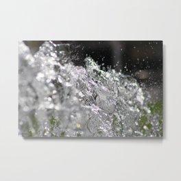 Water11 Metal Print