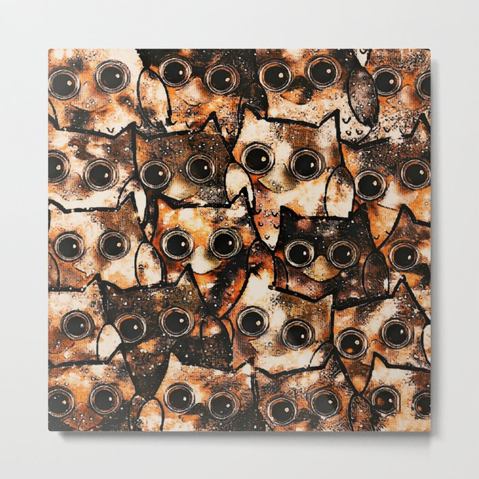 owl-14 Metal Print