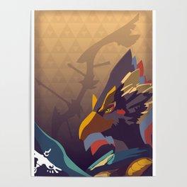 Rito Archer - Legend of Zelda Poster