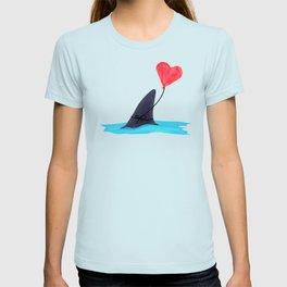 Original Shark Love Design T-shirt