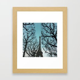 Eiffel Bues Framed Art Print
