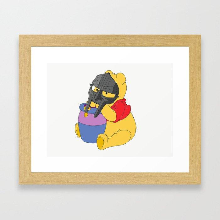 MF Pooh Framed Art Print