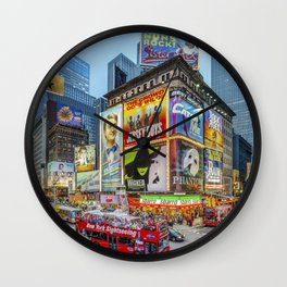 Times Square III Special Edition I Wall Clock