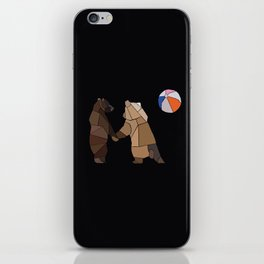 Puckish Bears iPhone Skin