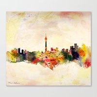 toronto Canvas Prints featuring  Toronto  by mark ashkenazi
