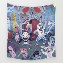 Captain Spaulding's Happy Family Wall Tapestry