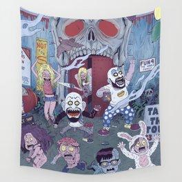 Captain Spaulding's Happy Family Wall Tapestry