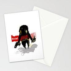 Monkey Go Boom Now Stationery Cards