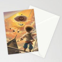 Sky pirate Stationery Cards