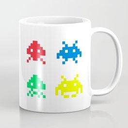 space aliens invaders stylish gamer art Coffee Mug