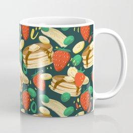 Healthy Pancake Breakfast Pattern Coffee Mug
