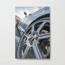 Mini Coop Custom Metal Print