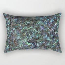 Abalone Shell | Paua Shell | Natural Rectangular Pillow
